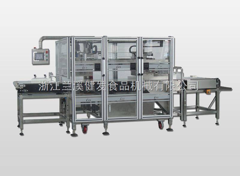 超声波食品分切机(五工位机)主要性能和结构特点