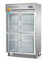厨房玻璃四门冷藏柜