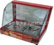三层食品保温展示柜