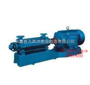 多級泵,D型多級離心泵,125D25多級離心泵,D型臥式多級離心泵