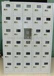 50门密码锁手机柜电子密码锁手机柜,机械密码锁手机柜,工厂员工手机柜,手机存放柜