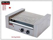 唯利安 HD-09 九棍滚筒式烤香肠机 烤热狗机 烤火腿肠机