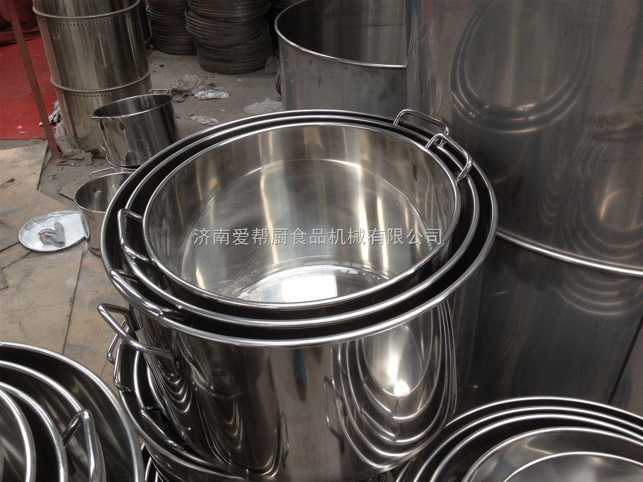 厂家批发供应不锈钢设备各种型号的汤桶