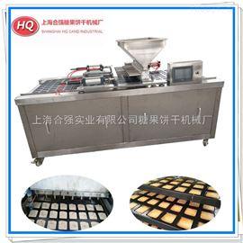 HQ-600/800型合强多功能食品注糊机 方形芝麻薄片成型机