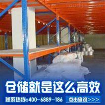 广州四层阁楼货架,选牧隆货架坚固耐用