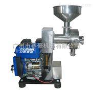 流动式磨粉机+汽油发电机,可移动式磨粉机