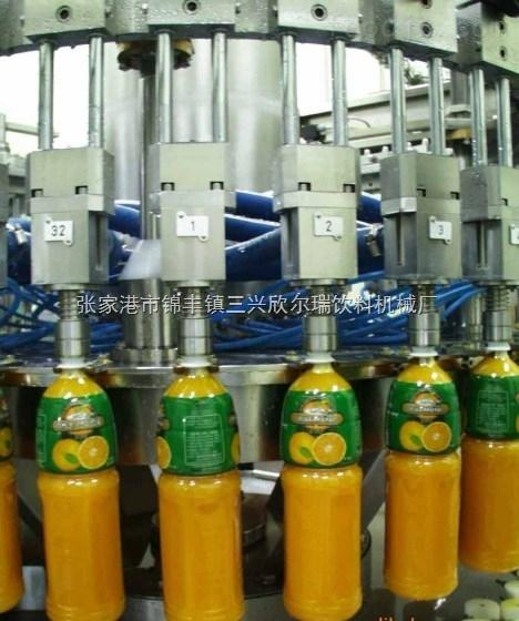 PET瓶果汁饮料生产工艺