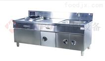LONPON隆邦:西式电磁单小炒带水池带柜灶