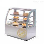 大理石圓弧形蛋糕柜保鮮冷藏展示柜