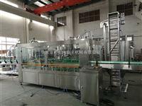 QHS不锈钢含气饮料灌装设备生产线