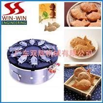 韩国式燃气烤鱼饼机