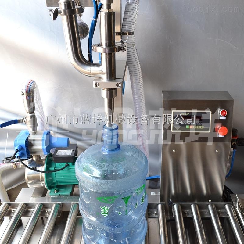 广州蓝洋机械灌装机小型桶装水生产线桶装水设备生