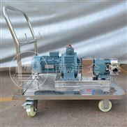 广州带推车浓膏体转子泵