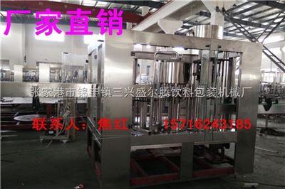 CGF小型全自动三合一瓶装水灌装机