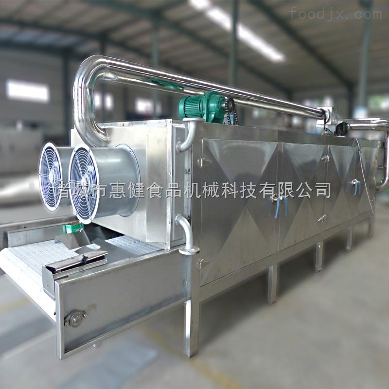 大型连续式多层带式烘干机香菇沥水烘干机