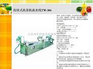尚丰祥涡流式洗菜机STW-306L净菜加工流水线