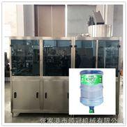 全自动小型灌装机 纯净水生产线 桶装水直线式灌装生产线
