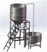 厂家直销多用型双位式泡米桶