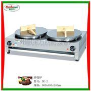 DE-2双头班戟炉/手抓饼机/电扒炉/煎饼机/炸炉/小吃设备/葱油饼机