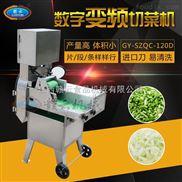 营养餐果蔬加工机械-无刀化中央厨房单头双变频数字切菜机