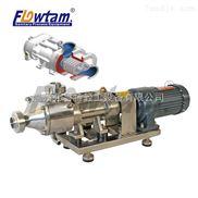 不锈钢搅龙螺旋一体双螺杆泵 肉泥输送高粘泵 螺杆泵高扬程304