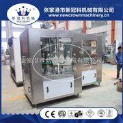 XGF-8-8厂家供应果汁饮料灌装封口机脉动饮料灌装旋盖机