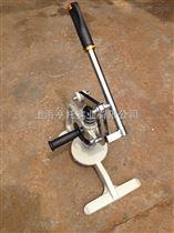 HT-Q100平方米手压面料克重仪 圆盘手压式取样刀 布料克重取样器