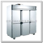 旭眾大型商用廚房冷藏柜四門廚房冷藏柜 立式冷凍柜多少錢一臺