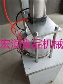 HR-YBJ-500大型商用不锈钢单饼机
