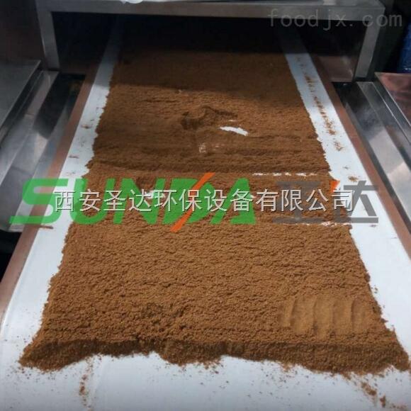 新疆调味品微波杀菌机 西安圣达微波杀菌厂家推荐新品
