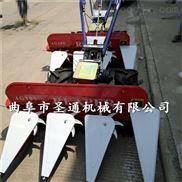 高架四轮拖拉机割台,农场饲用甜高粱收割机
