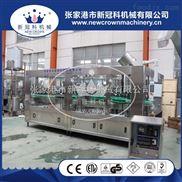 灌裝機生產廠家玻璃瓶皇冠蓋果汁沙棘汁灌裝壓蓋機