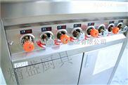 酒店专用四头燃气煲仔炉全不锈钢机体豪华美观 节能环保厨具