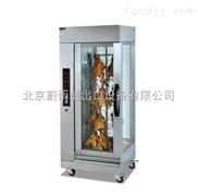 北京電熱烤雞鴨機器|北京立式全自動烤雞爐|北京電加熱旋轉烤雞爐