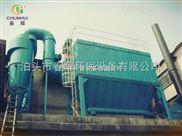 讲解安徽洗浴中心生物质热水锅炉布袋除尘器阻火器设计原理
