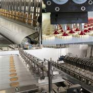 HQ-600-全自动饼干生产线 酥性注芯饼干设备 巧克力饼干机械