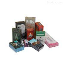 香烟盒透明膜包机 全自动转盘式三维包装机