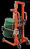 电子倒桶秤食品车间抱式倒桶角度360度150kg手动倒桶秤