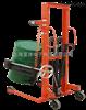 自动倾倒油桶秤食品车间圆桶装卸搬运500kg手动油桶堆高车秤